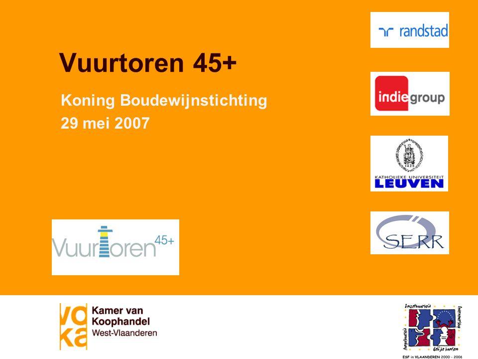 Vuurtoren 45+ Koning Boudewijnstichting 29 mei 2007