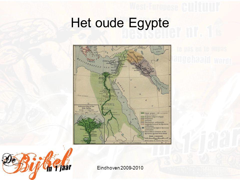 Wat vooraf ging Jozef, zoon van aartsvader Jakob, komt als slaaf in Egypte Wordt uiteindelijk onderkoning na voorspelling van 7 vette en 7 magere jaren Brengt familie naar Egypte Eindhoven 2009-2010