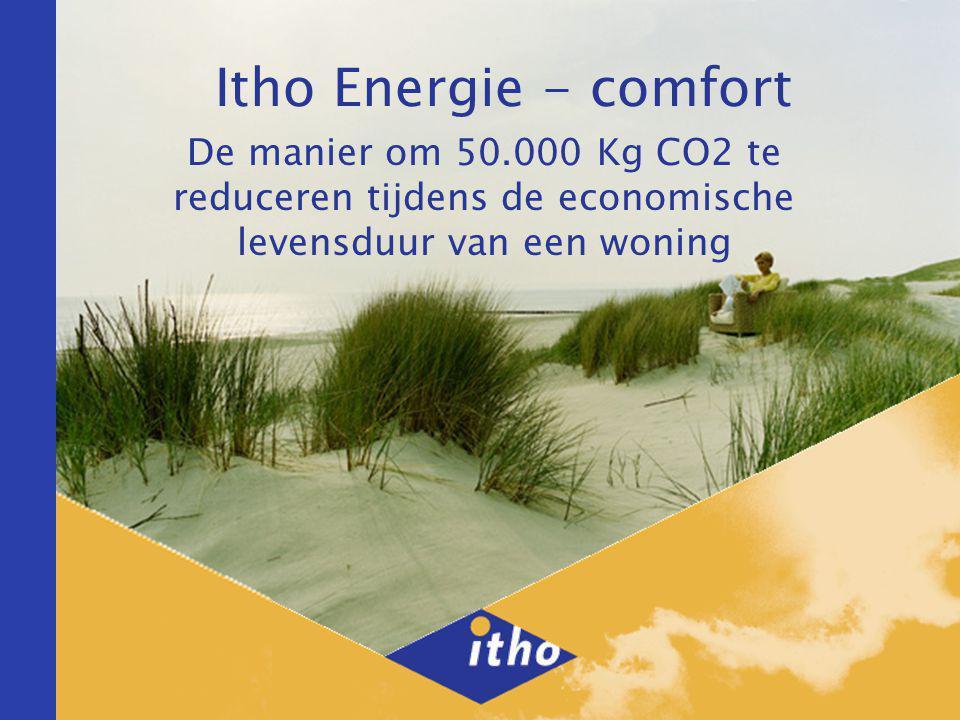 Itho Energie - comfort De manier om 50.000 Kg CO2 te reduceren tijdens de economische levensduur van een woning