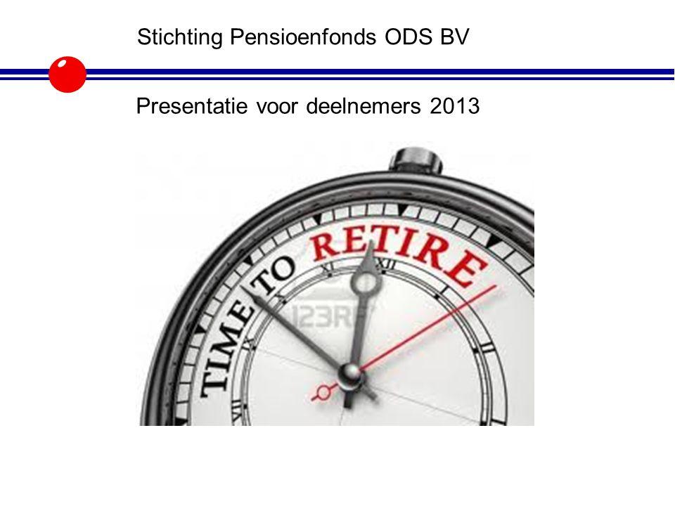 Agenda Inleiding bijeenkomst Terugblik pensioenjaar 2013 Toelichting werkgever ODS Uitleg OR m.b.t.