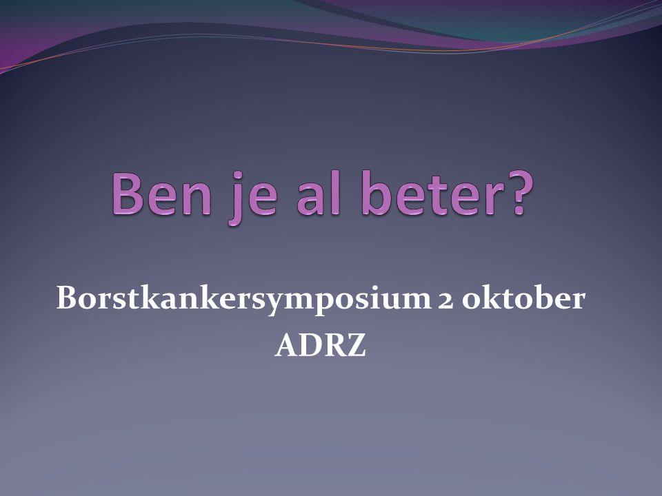 Borstkankersymposium 2 oktober ADRZ