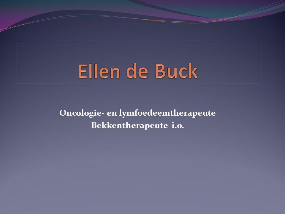 Oncologie- en lymfoedeemtherapeute Bekkentherapeute i.o.