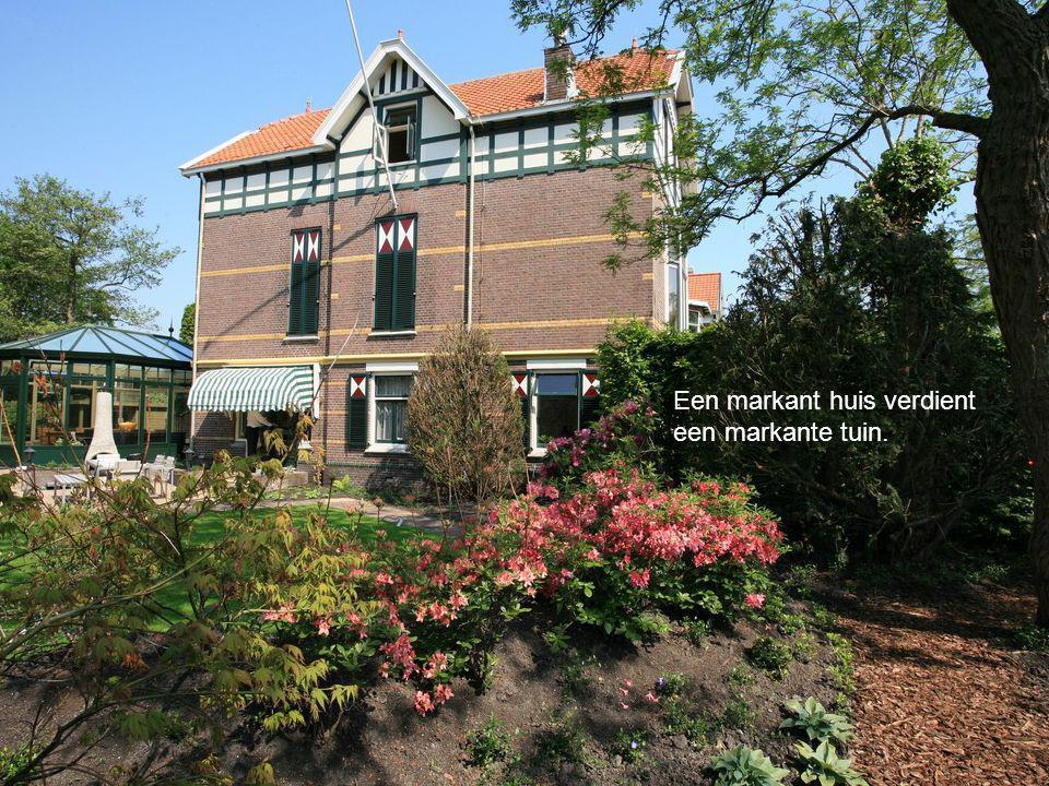 Een markant huis verdient een markante tuin.