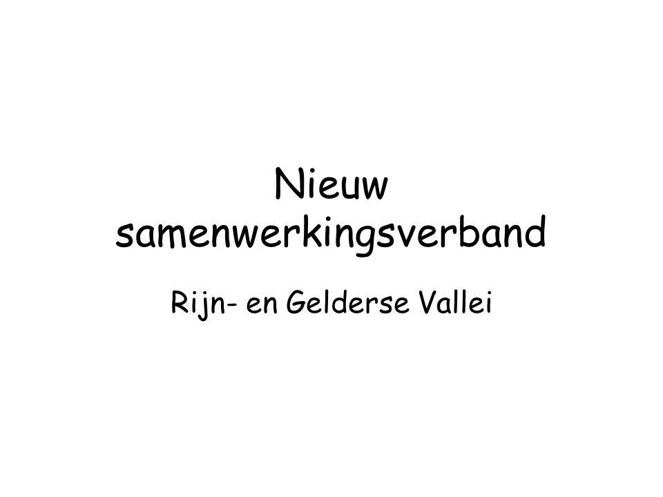 Nieuw samenwerkingsverband Rijn- en Gelderse Vallei