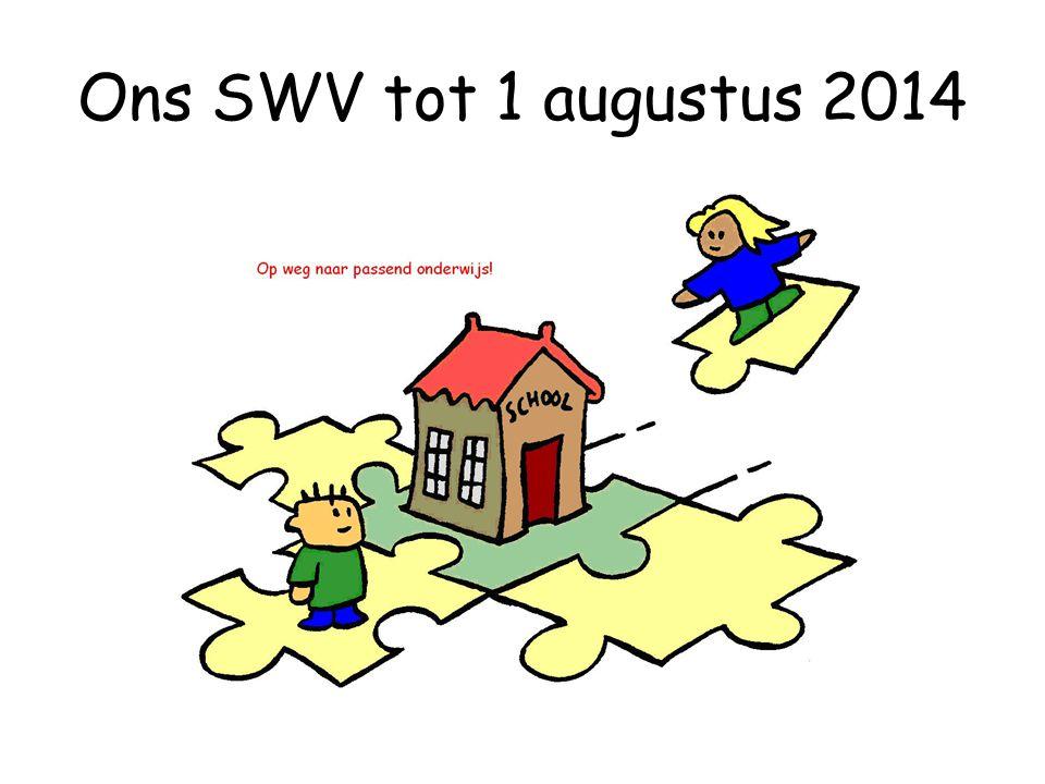 Ons SWV tot 1 augustus 2014