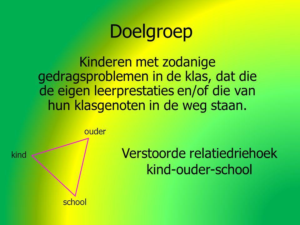 Kinderen met zodanige gedragsproblemen in de klas, dat die de eigen leerprestaties en/of die van hun klasgenoten in de weg staan.