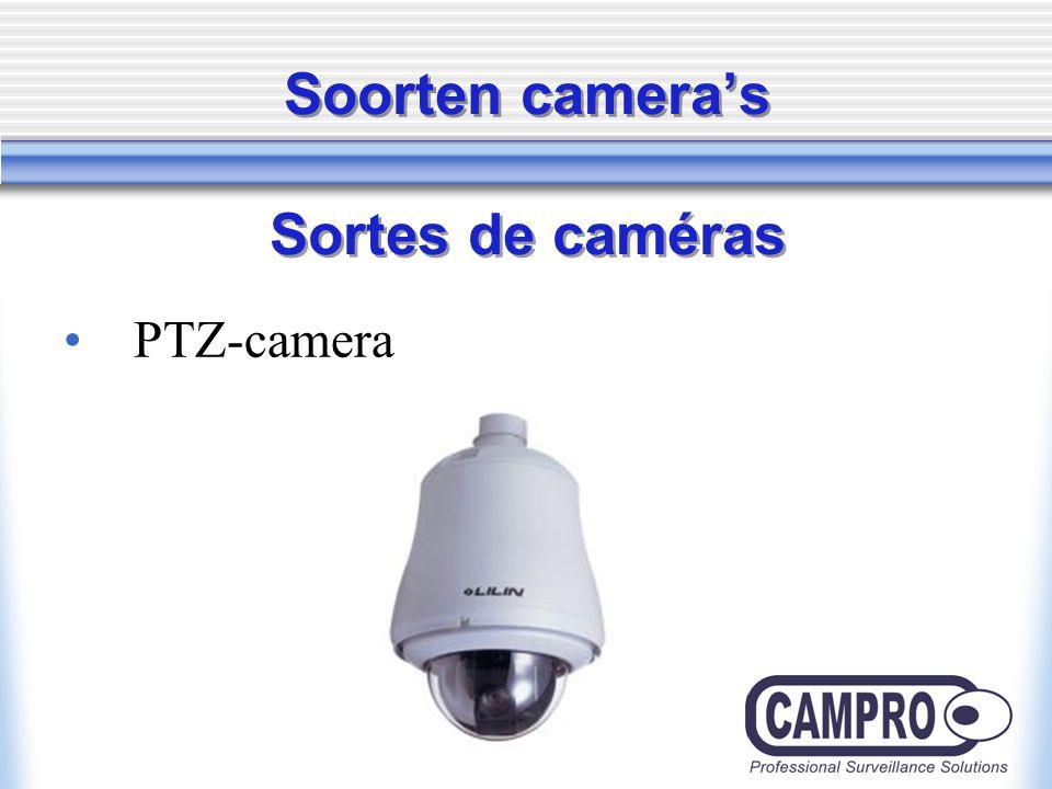 Soorten camera's Sortes de caméras PTZ-camera