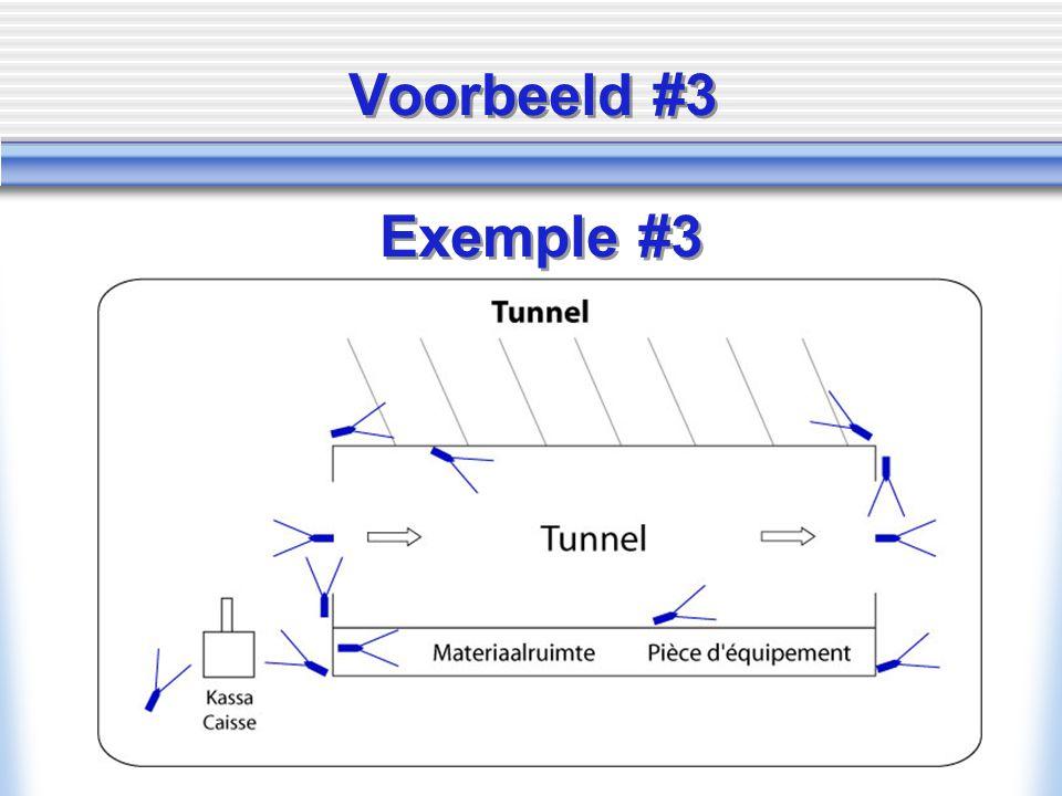 Voorbeeld #3 Exemple #3