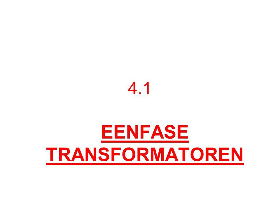 IDEALE TRANSFO PRINCIPE: WEDERZIJDSE INDUCTIE AC SPANNING → WISSELVELD Ep en Es 90° NA – IJLEND OP Im