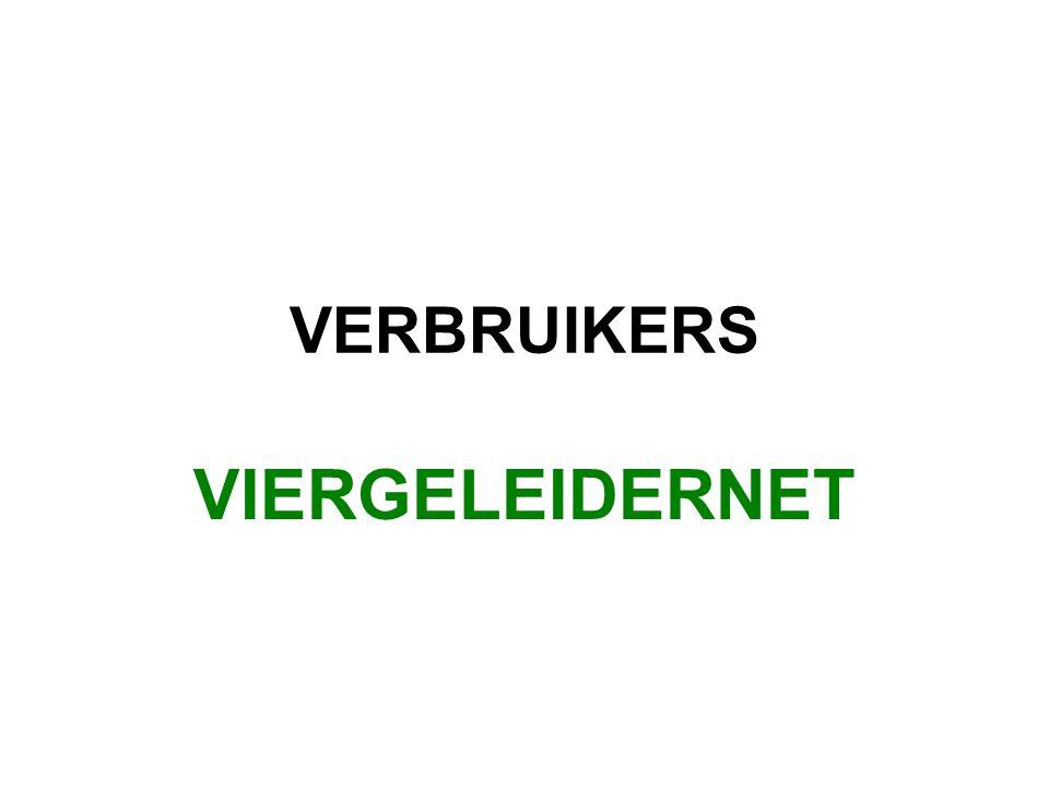VERBRUIKERS VIERGELEIDERNET