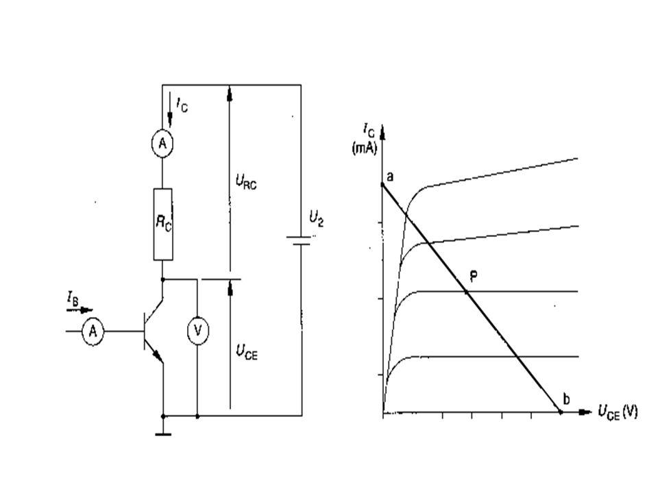 Praktische oefening 2N929 Transistor Uv = 30 V Rc = 1000 Ω