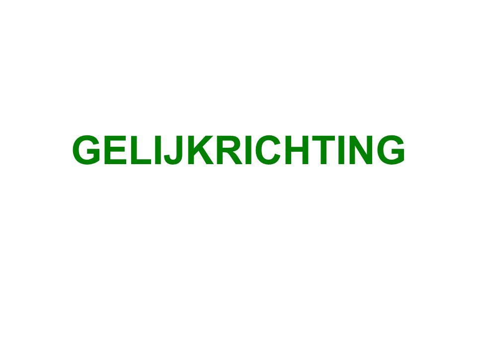 GELIJKRICHTING