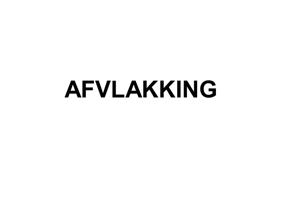 AFVLAKKING