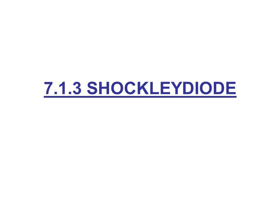 7.1.3 SHOCKLEYDIODE