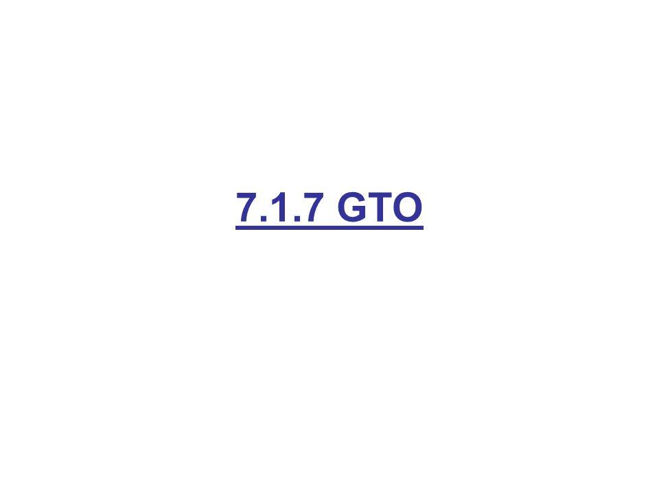 7.1.7 GTO
