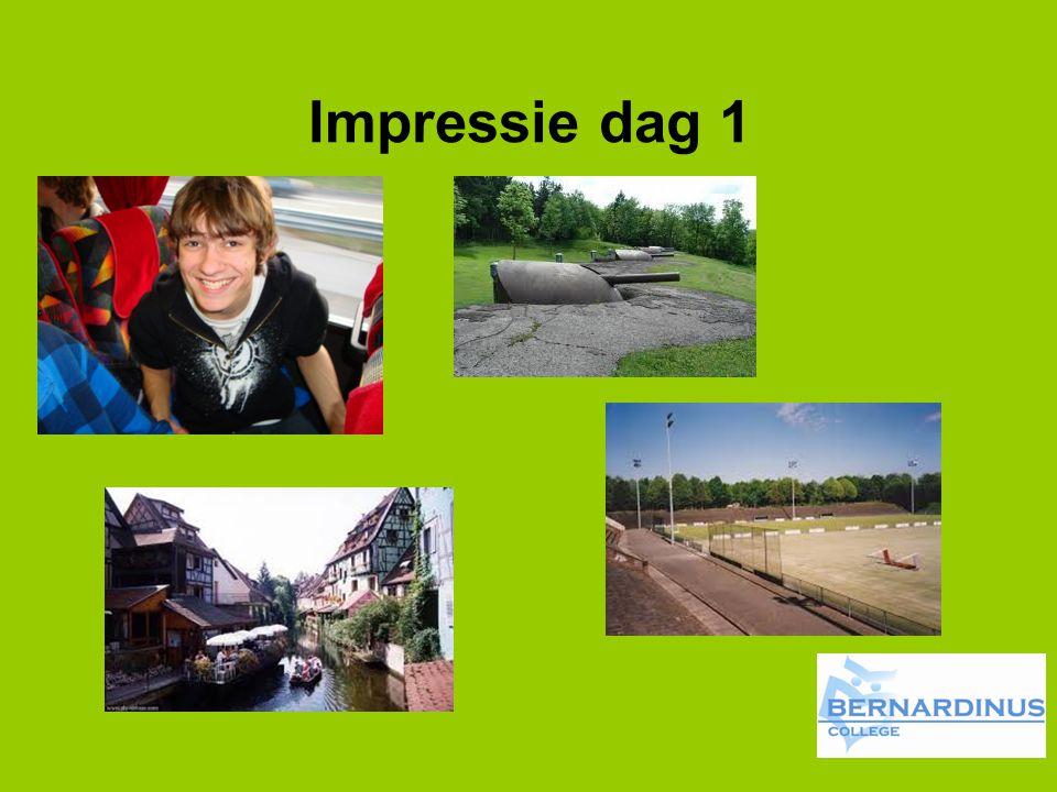Impressie dag 1