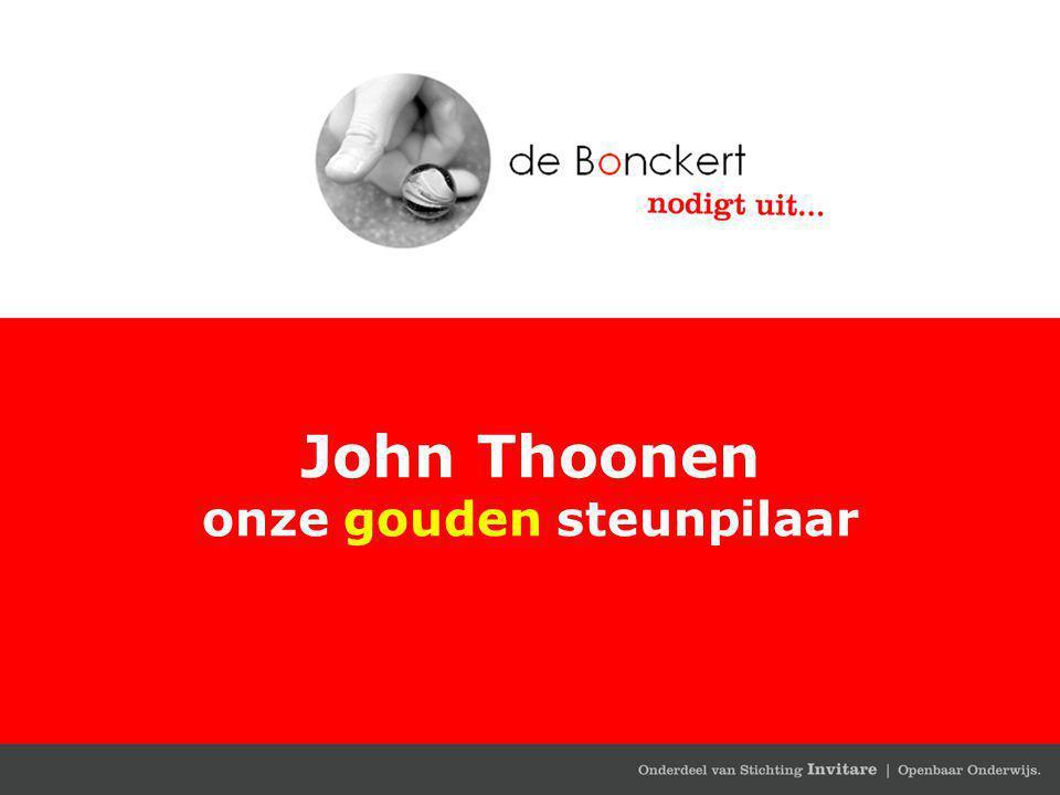 John Thoonen onze gouden steunpilaar