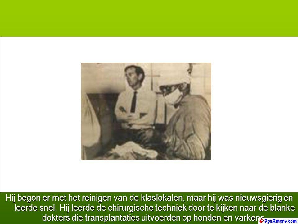 Naki droeg de muts en het masker, maar hij had nooit medicijnen of chirurgie gestudeerd. Hij had de school verlaten op de leeftijd van 14 jaar... Hij