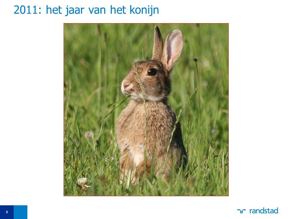 8 2011: het jaar van het konijn
