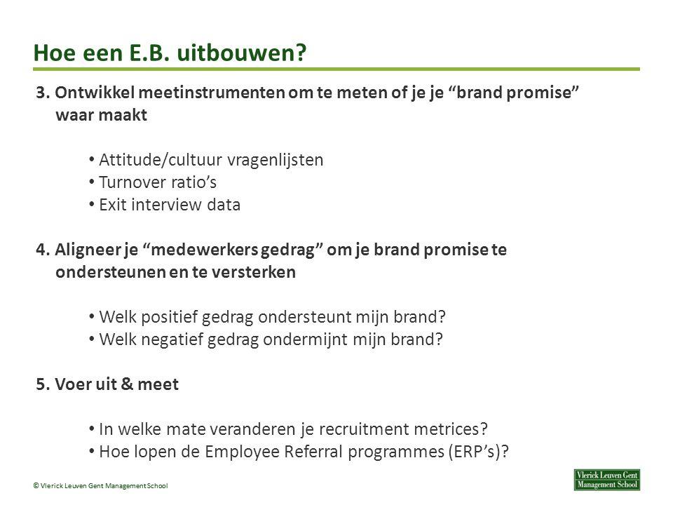 © Vlerick Leuven Gent Management School 3.