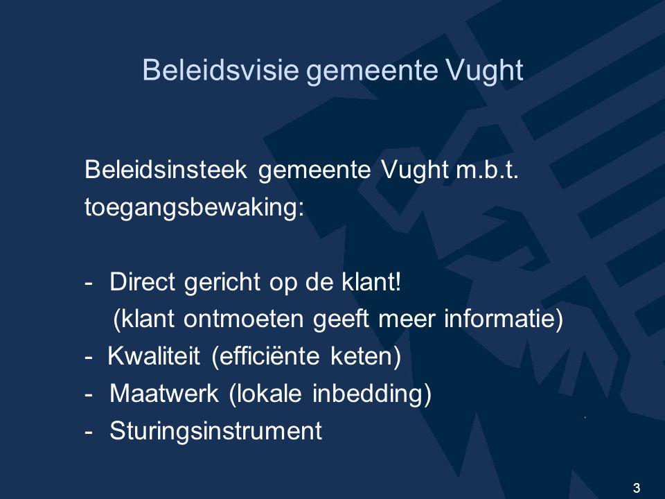 3 Beleidsvisie gemeente Vught Beleidsinsteek gemeente Vught m.b.t.