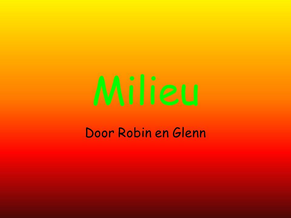 Milieu Door Robin en Glenn