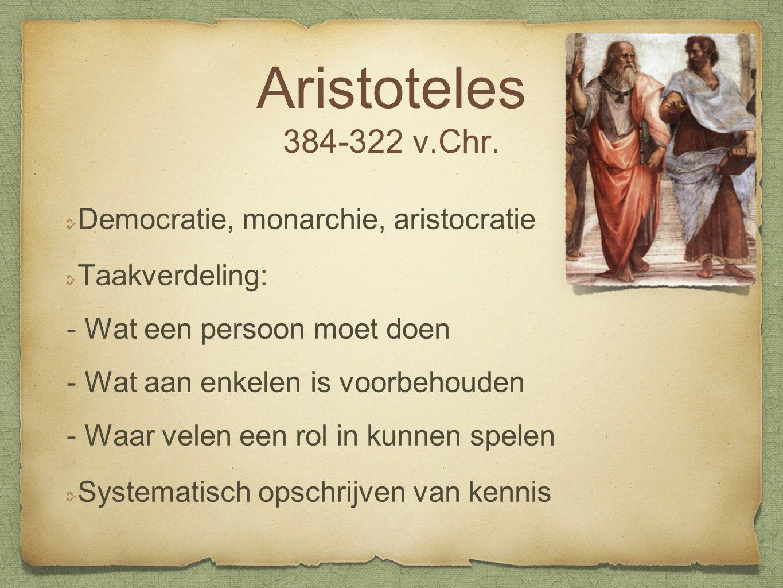 Aristoteles 384-322 v.Chr.