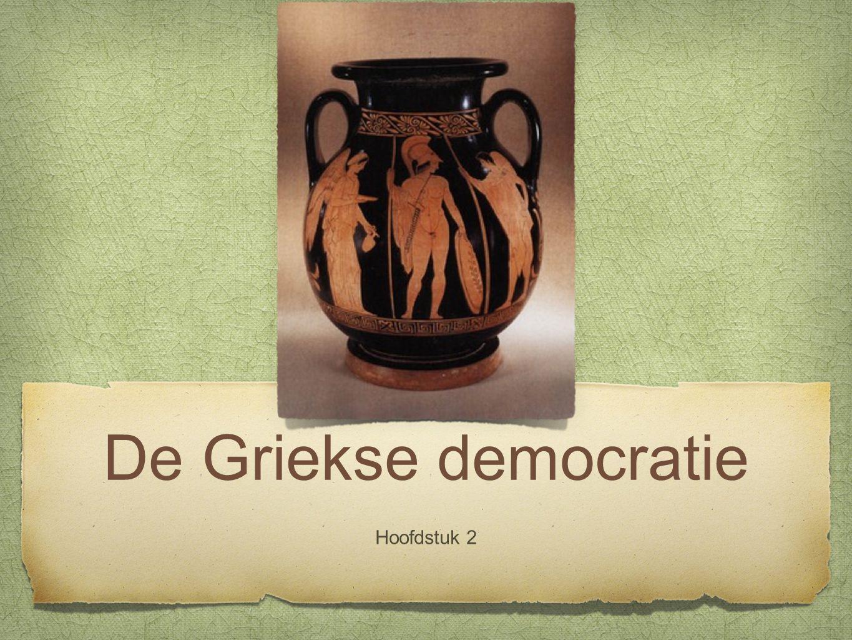 De Griekse democratie Hoofdstuk 2