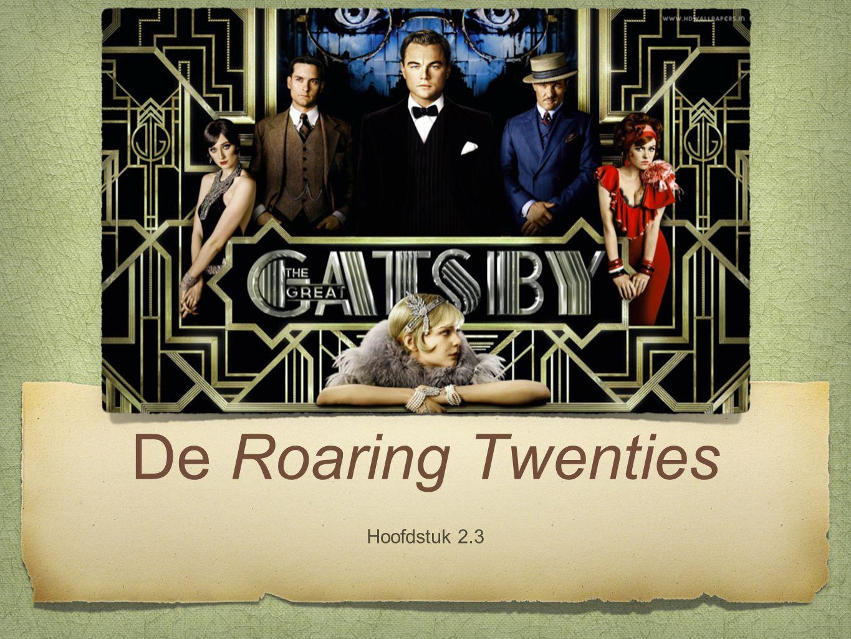 De Roaring Twenties Hoofdstuk 2.3