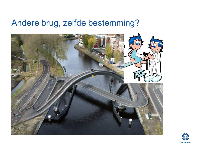 Andere brug, zelfde bestemming?