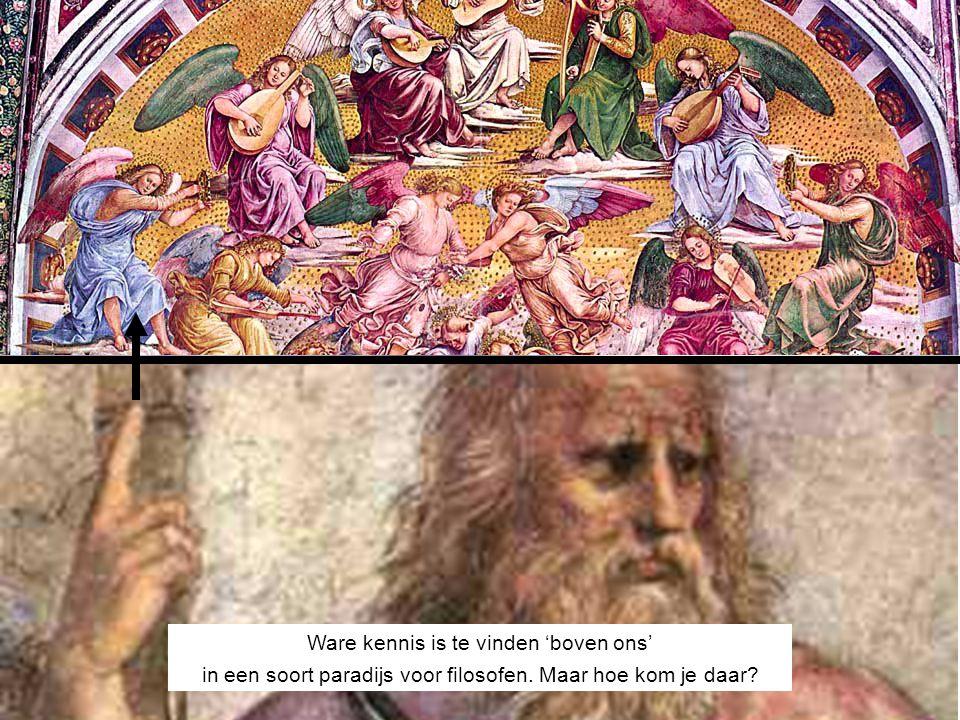 IDEEËNWERELD Ware kennis is te vinden 'boven ons' in een soort paradijs voor filosofen. Maar hoe kom je daar?