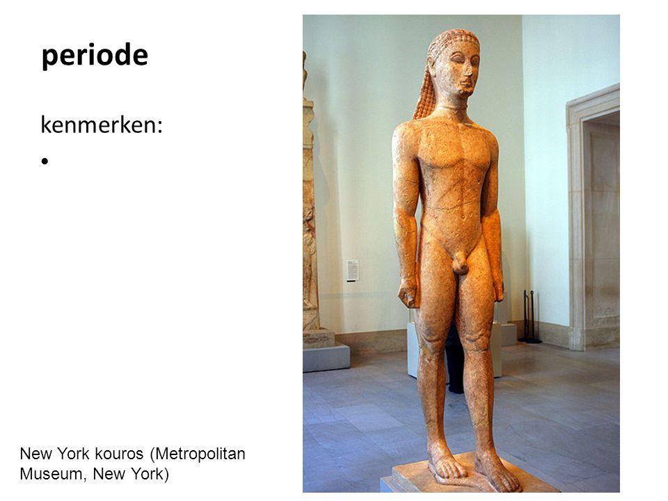 periode kenmerken: jongen wurgt gans (Vaticaanse Musea, Rome)