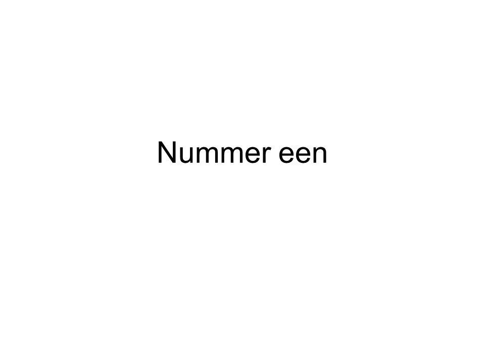 Nummer een