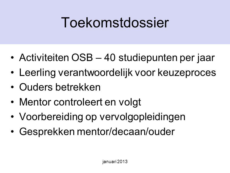 januari 2013 3 HAVO keuze profiel Qompas profielkeuze Bovenbouwweek Profieloriëntatie Fontys Presentatie aan ouders Voorlopige keuze/Advies & gesprek/ Definitieve keuze Let op!!.
