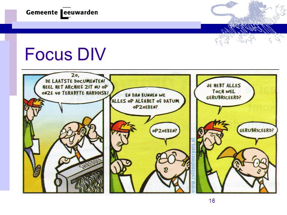 16 Focus DIV