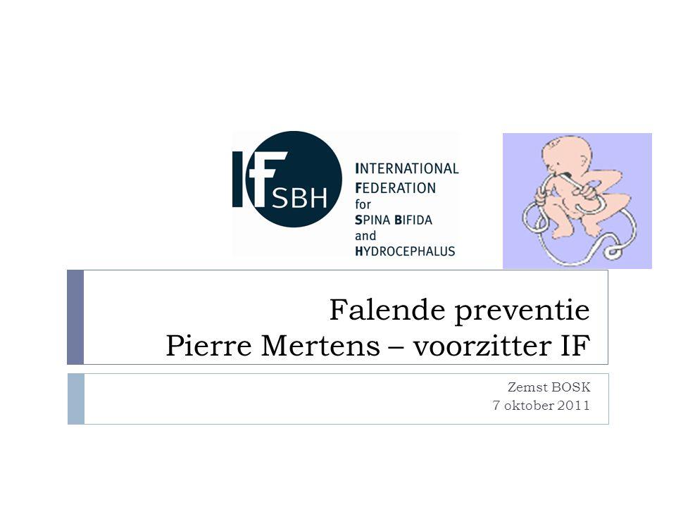 Falende preventie Pierre Mertens – voorzitter IF Zemst BOSK 7 oktober 2011
