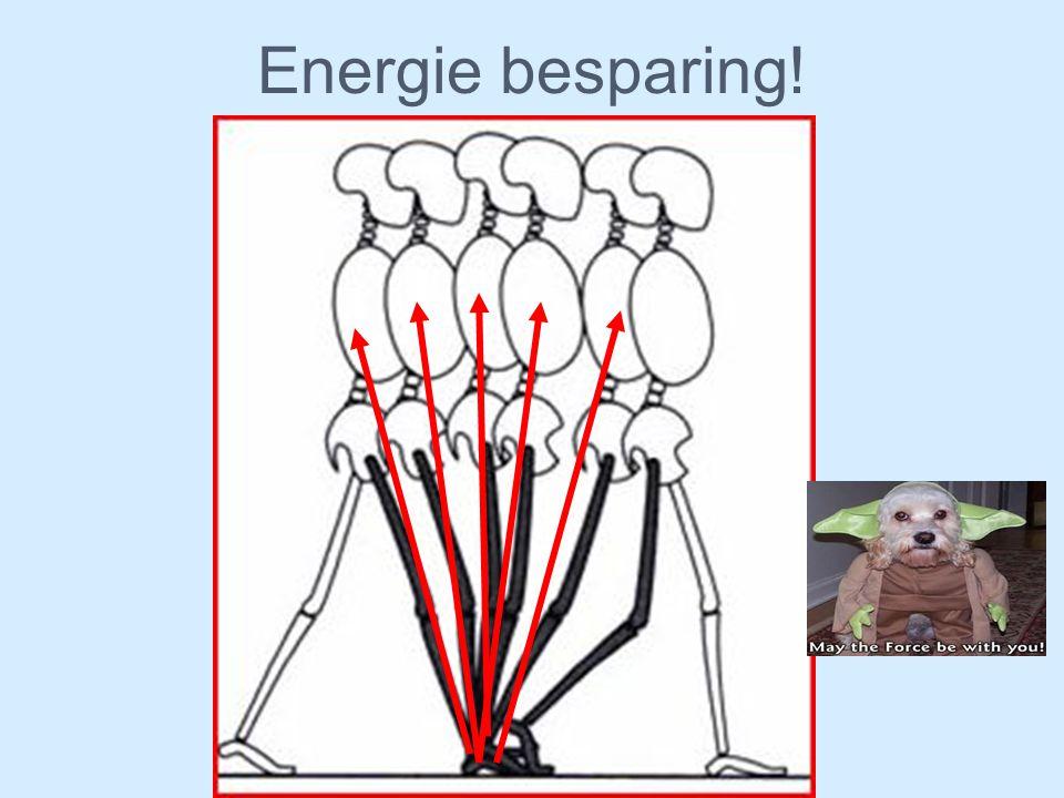 Energie besparing!