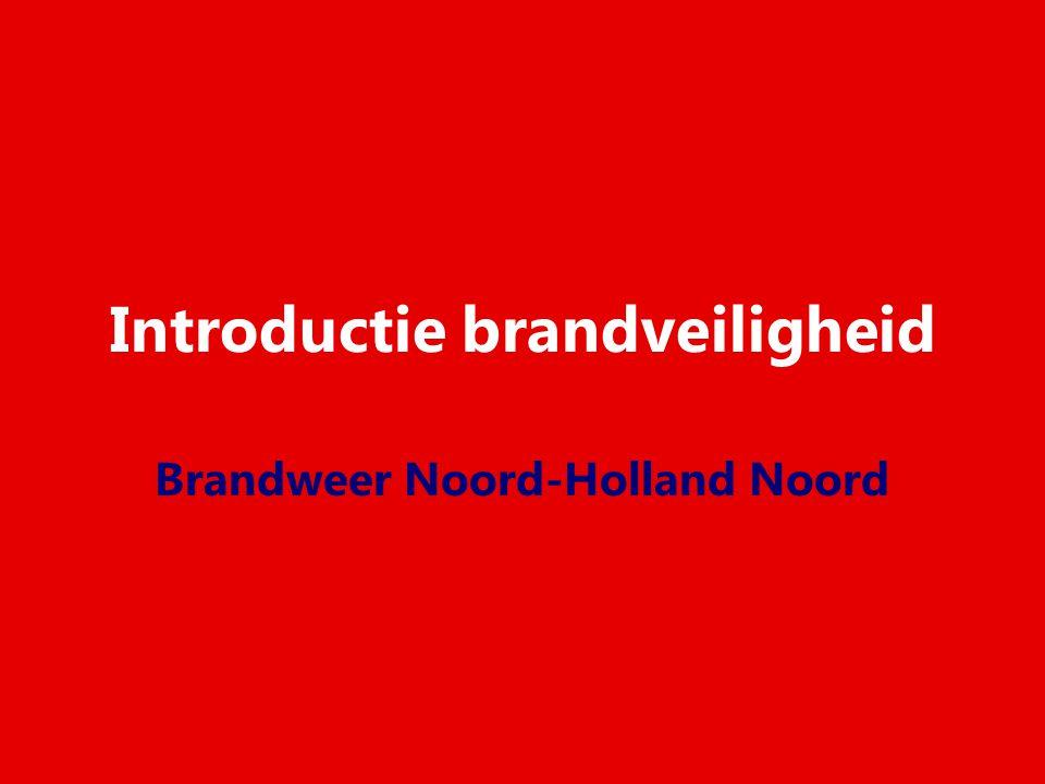 Introductie brandveiligheid Brandweer Noord-Holland Noord