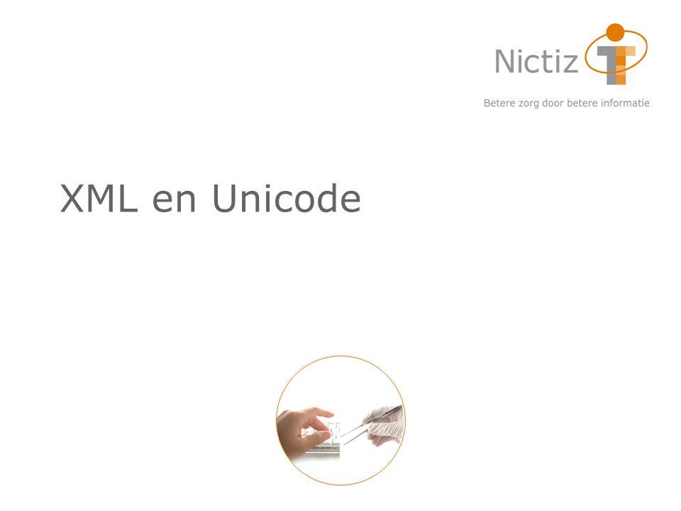 XML en Unicode