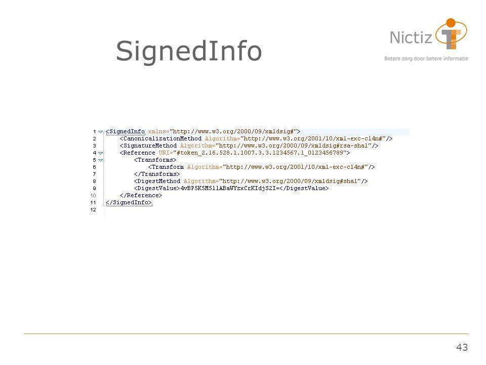 43 SignedInfo