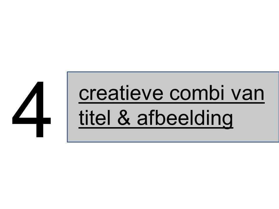 creatieve combi van titel & afbeelding 4