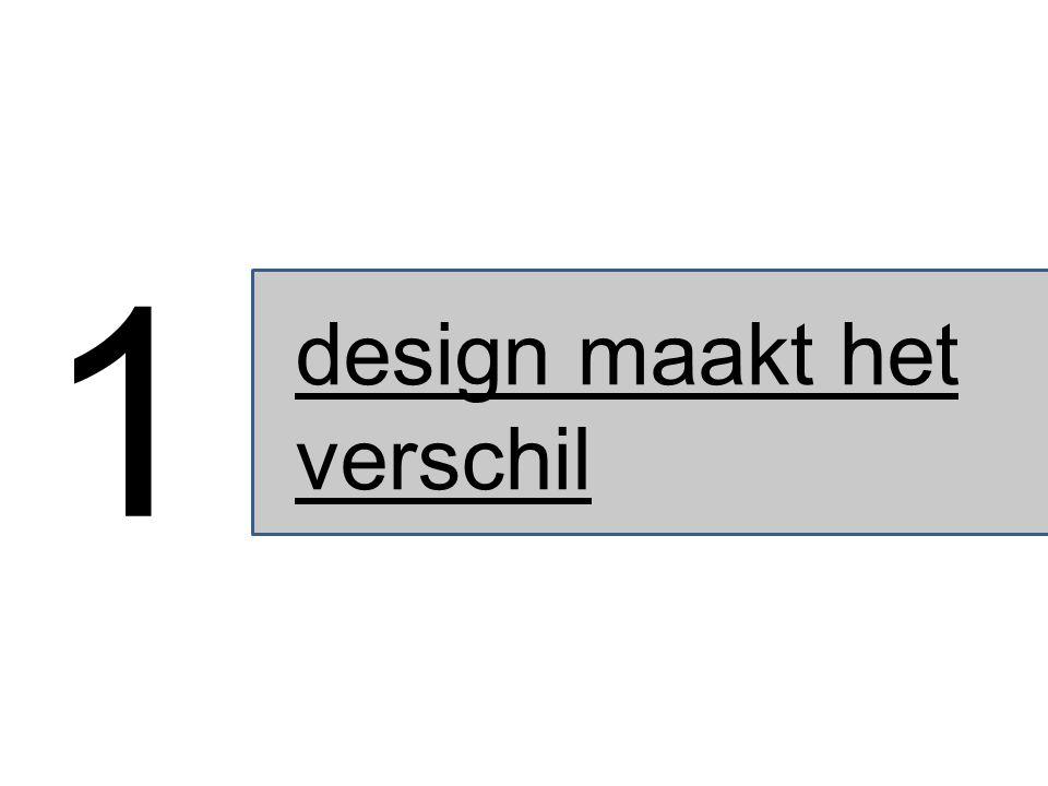design maakt het verschil 1