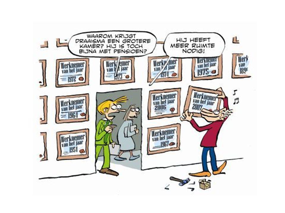 Feiten over ouder worden Niet terug te draaien …  Snelheid van info verwerken daalt Maar….