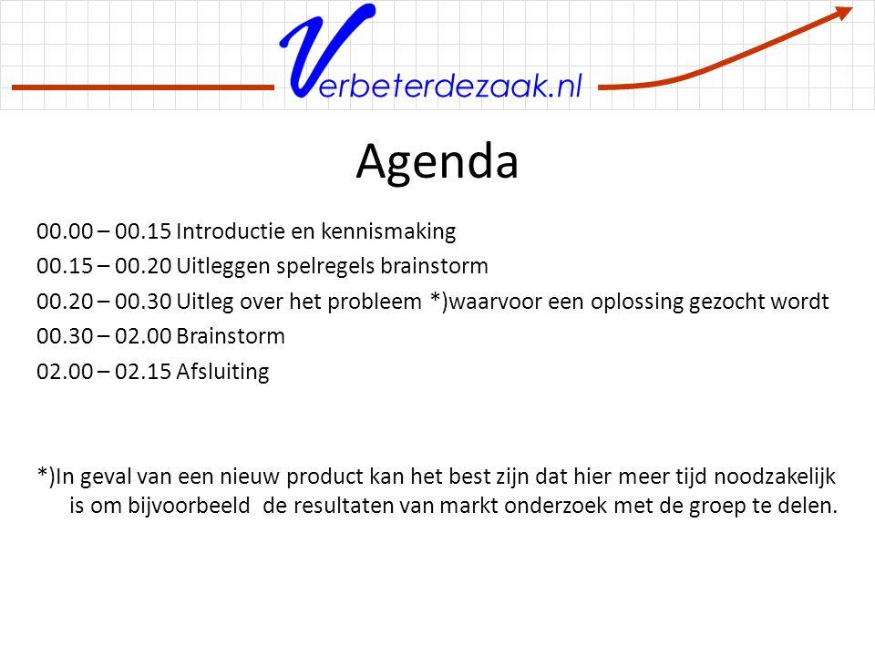 erbeterdezaak.nl Uitbreiding op de basis Na de eerste ronde brainstormen kan in de groep een selectie plaatsvinden op basis van twee criteria: nieuwheid van het idee en aantrekkelijkheid.