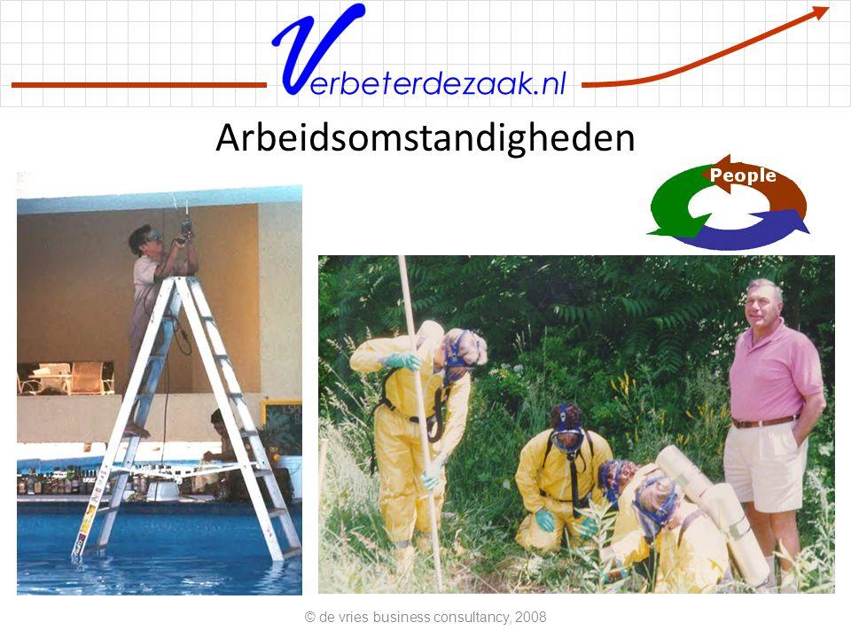 erbeterdezaak.nl Arbeidsomstandigheden © de vries business consultancy, 2008