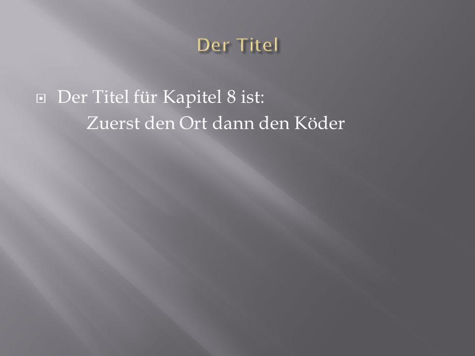 Den Mörder: 1.Hij komt uit Graubünden 2. Hij rijdt altijd langs dezelfde weg 3.