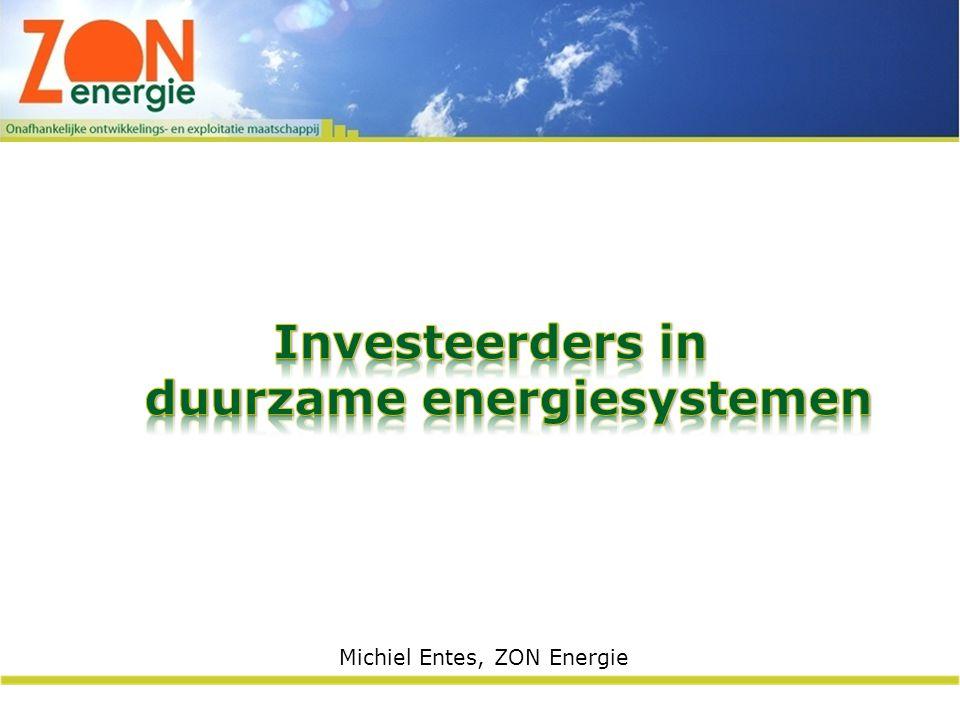 Michiel Entes, ZON Energie