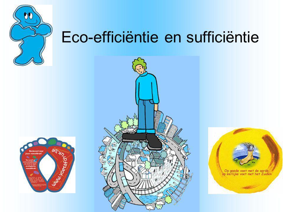 Eco-efficiëntie en sufficiëntie