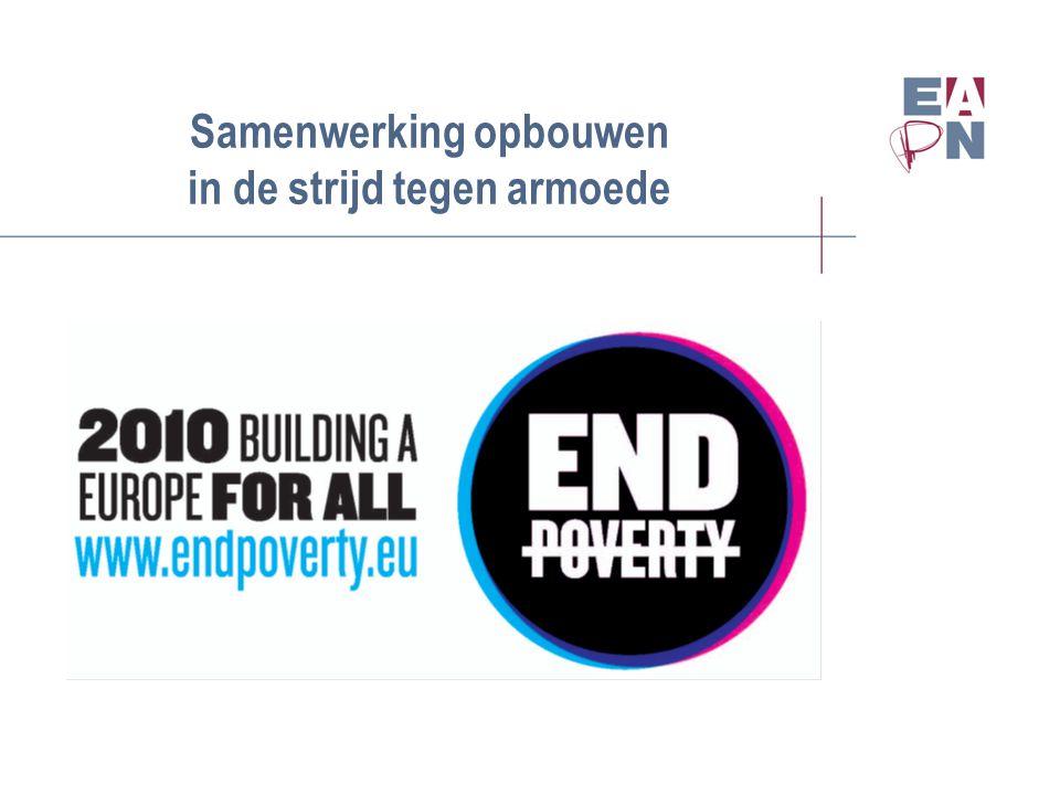 Samenwerking opbouwen in de strijd tegen armoede