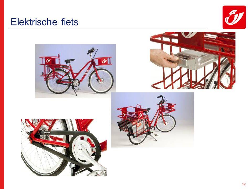 12 Elektrische fiets